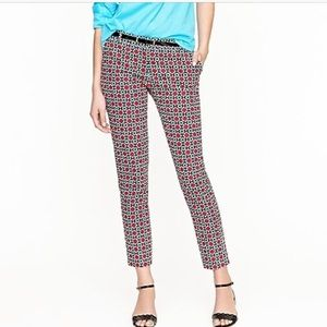 J crew collection cafe capri Kaleidoscope 0475
